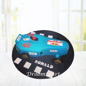 Droomtaart Formule 1 raceauto