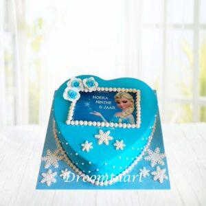 Droomtaart Frozen taart 3