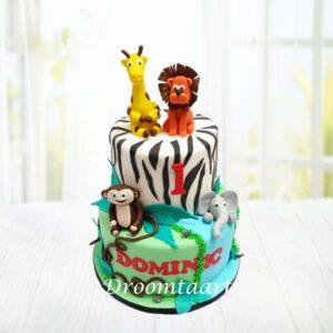 Droomtaart Jungle taart 5a