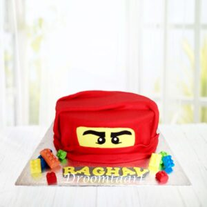 Droomtaart Lego Ninjago Kai taart
