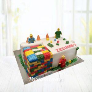 Droomtaart Legotaart 1