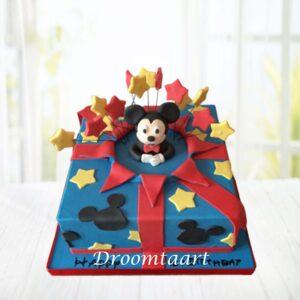 Droomtaart Mickey Mouse taart 2