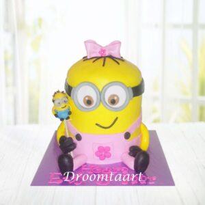 Droomtaart Minion meisje 1