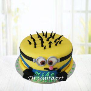 Droomtaart Minion taart 1