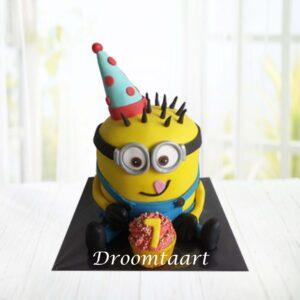 Droomtaart Minion taart 2