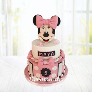 Droomtaart Minnie Mouse taart 2