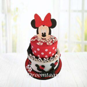 Droomtaart Minnie Mouse taart 3