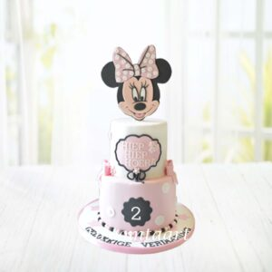 Droomtaart Minnie Mouse taart 4