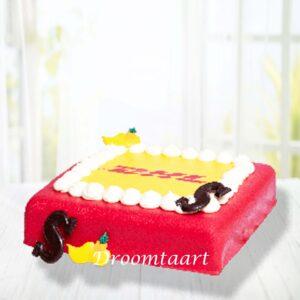 Droomtaart Sinterklaas marsepeintaart 1