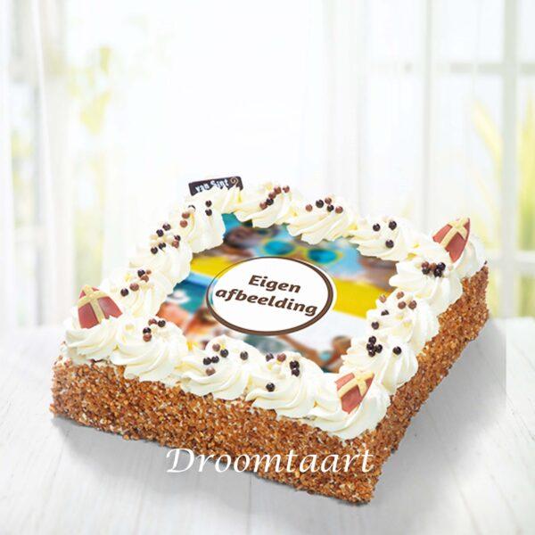 Droomtaart Sinterklaas slagroomtaart