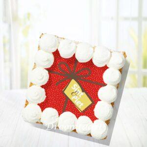 Droomtaart Sinterklaas slagroomtaart 2