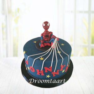 Droomtaart Spiderman taart 3