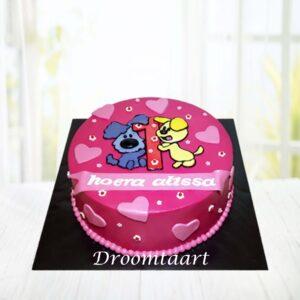 Droomtaart Woezel en Pip taart 1