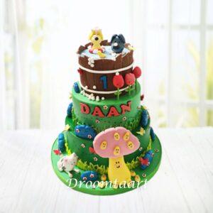 Droomtaart Woezel en Pip taart 13