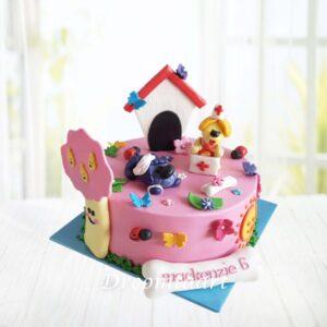 Droomtaart Woezel en Pip taart 7
