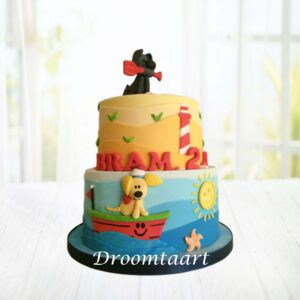 Droomtaart Woezel en Pip taart 8
