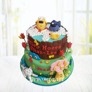 Droomtaart Woezel en Pip taart 9