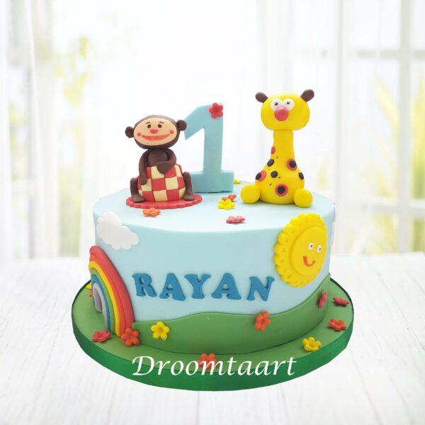Droomtaart Babytv taart