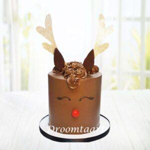 Droomtaart Kerst taart rendier